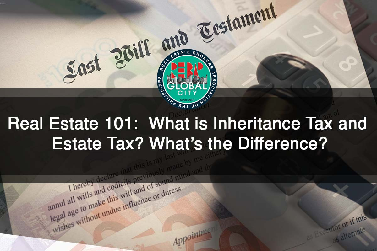 What is Inheritance Tax and Estate Tax