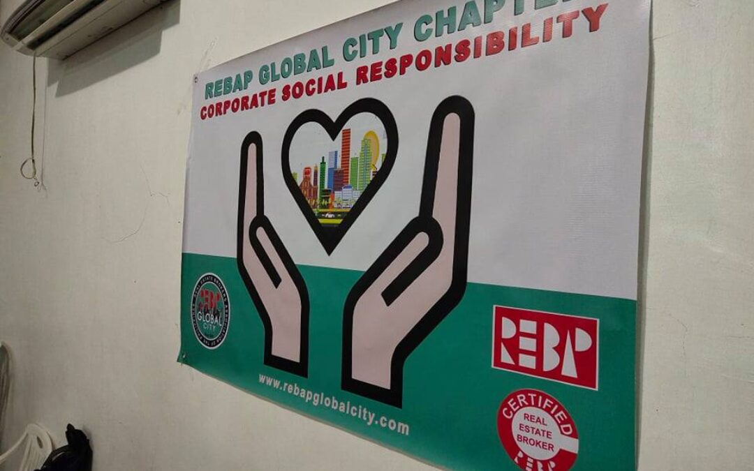 REBAP Global City Chapter Corporate Social Responsibility in Taguig