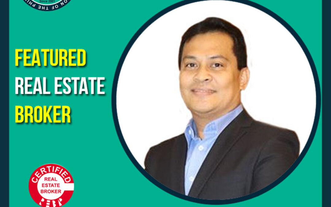 Featured Real Estate Broker CRB Edgar Allan Agaton